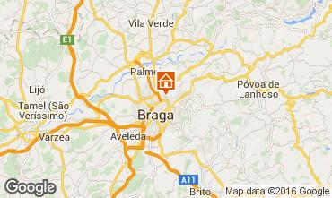 Karte Braga Fremdenzimmer 102359