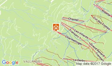 Karte Les Arcs Appartement 107714