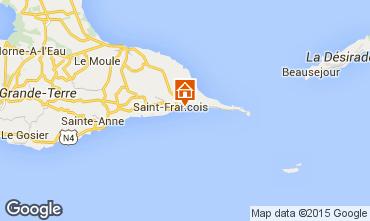 Karte Saint Francois Studio 8975