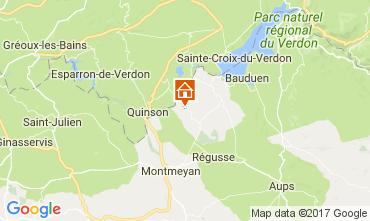 Karte Artignosc-sur-Verdon Haus 109478