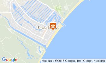 Karte Empuriabrava Appartement 112753