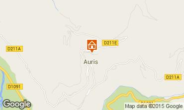 Karte Alpe d'Huez Haus 29