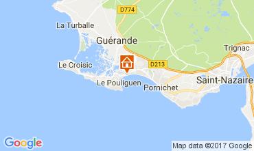 Karte La Baule Appartement 30666