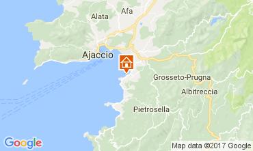 Karte Porticcio Villa 110254