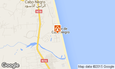 Karte Cabo Negro Appartement 78959