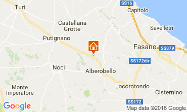 Karte Alberobello Villa 113922