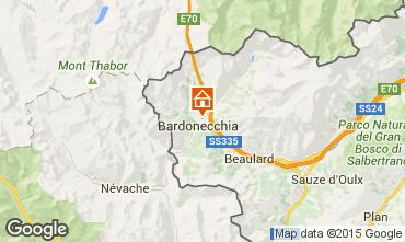 Karte Bardonecchia Appartement 82964