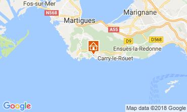 Karte Sausset Les Pins Villa 115614