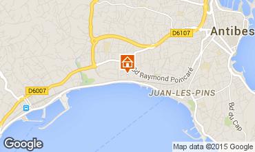 Karte Juan les Pins Studio 86922