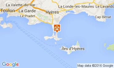 Karte Hy�res Studio 104589