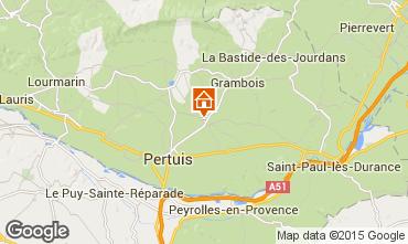 Karte La Tour d'Aigues Appartement 71869
