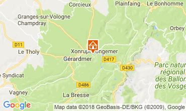 Karte Gérardmer Chalet 114932
