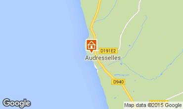 Karte Audresselles Haus 76074