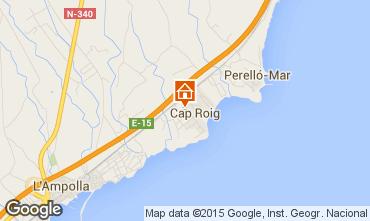 Karte L'Ampolla Villa 94750