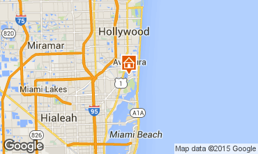 Karte Miami Beach Villa 5332
