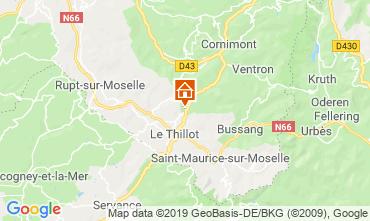 Karte La Bresse Hohneck Chalet 119039