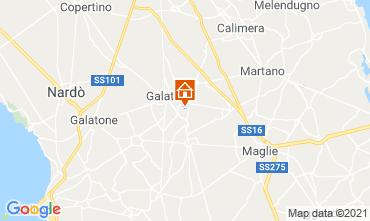 Karte Lecce Villa 104568