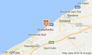 Karte Middelkerke Appartement 115900