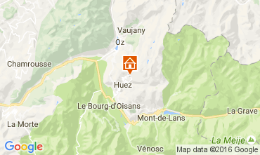 Karte Alpe d'Huez Appartement 80044