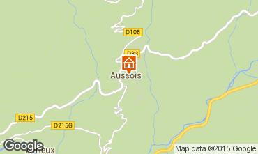 Karte Aussois Appartement 393