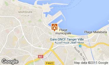 Karte Tanger Appartement 9041