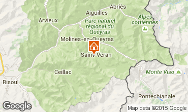 Karte Molines Saint-Véran Chalet 1575