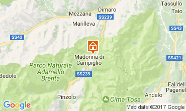 Karte Madonna di Campiglio Appartement 28711