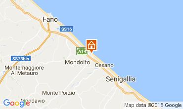 Karte Fano Appartement 112791