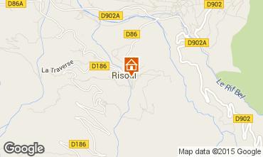 Karte Risoul 1850 Appartement 59292