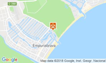 Karte Empuriabrava Appartement 82724