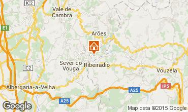 Karte Sever do Vouga Ferienunterkunft auf dem Land 59825