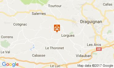 Karte Lorgues Haus 110209
