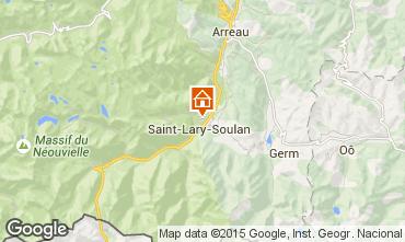Karte Saint Lary Soulan Appartement 87371