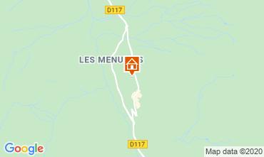 Karte Les Menuires Studio 1615