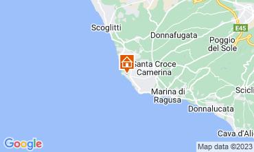 Karte Marina di Ragusa Appartement 78652