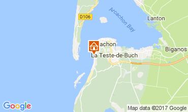 Karte Pyla sur Mer Villa 112783