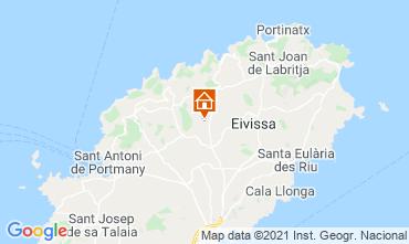 Karte Ibiza Ferienunterkunft auf dem Land 64142