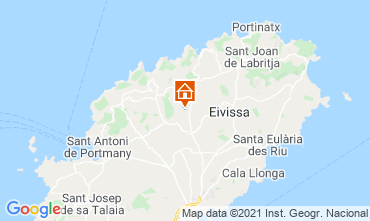 Karte Santa Eulalia del R�o Ferienunterkunft auf dem Land 64142
