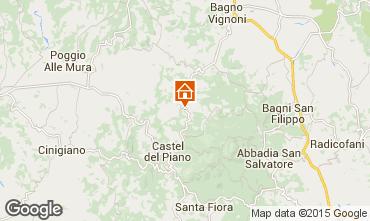 Karte Montalcino Appartement 74222