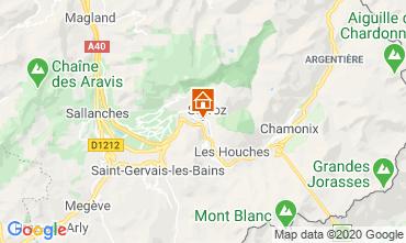 Karte Chamonix Mont-Blanc Studio 90652