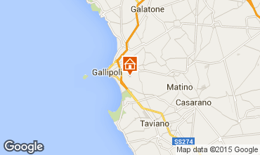Karte Gallipoli Villa 92673