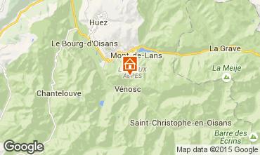 Karte Les 2 Alpes Studio 50248