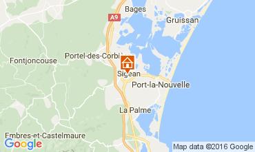 Karte Sigean Mobil-Home 107497