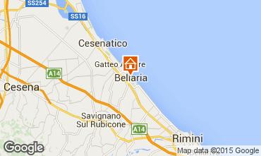 Karte Bellaria Igea Marina Appartement 69763