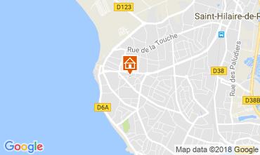 Karte Saint Hilaire de Riez Villa 113956