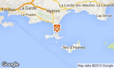 Karte Hyères Appartement 69390