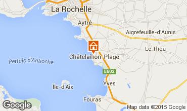 Karte Châtelaillon plage Chalet 70115