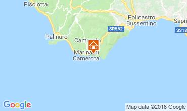 Karte Marina di Camerota Appartement 87898