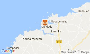 Karte Landeda Haus 113687