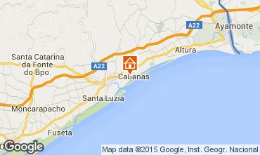 Karte Tavira Studio 43843